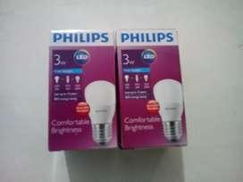 Lampu Led Philips 3 Watt Satuan