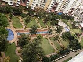 3 bhk semi furnished flat for rent in purva Fountain square marathali