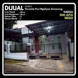 Dijual Rumah Murah Lokasi Permata Puri Ngaliyan Semarang