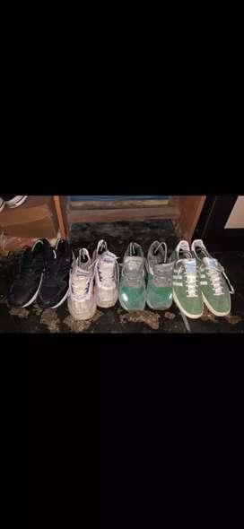 Sepatu diadora, reebok, gazelle, saucony.