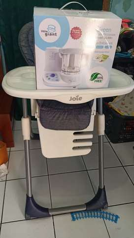 High chair Joie & food processor little giant new
