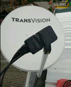 Pasang parabola TRANSVISION HD resmi area Klaten murah free instalasi