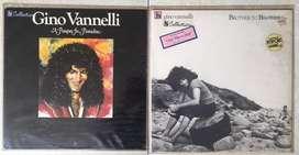 Jual Paket (2) Piringan Hitam (Vinyl) GiNO VANNELLI kondisi Ok