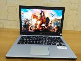 Laptop NEC Core i3 Gen 6 ram 8gb 500gb 13inch ZOOM sekolah kerja Mulus