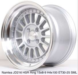 velg racing keren r15 for mobilio KIA rio brio