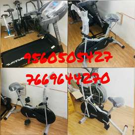 Exercise gym cycle in home use or Treadmills