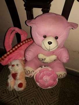Teddy bear , Mini teddy  bear,teddy  bear purse, Mini purse