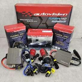 Lampu HID Autovision H7 Captiva, Wuling Almaz/Cortez/Confero, VW Golf