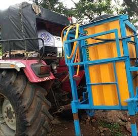 Tractor mount sprayer