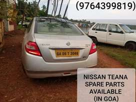 NISSAN TEANA SPARE PART AVAILABLE IN GOA