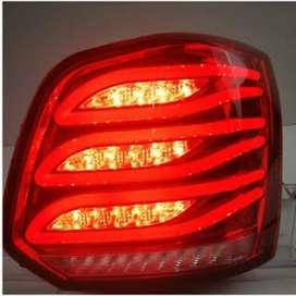 Polo red led tail light lamp benz style matrix indicators