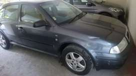 Skoda Octavia smoke grey color