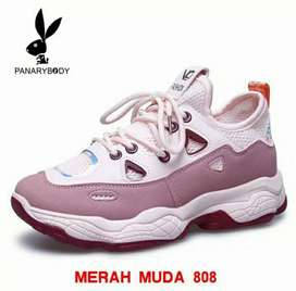 Sepatu Wanita Olahraga Import Sneakers Wanita Lari  Sepatu Sport
