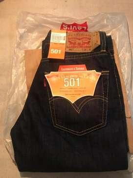 Celana jeans levis 501 BLUEBLACK