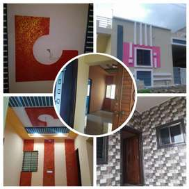brand New unused 2bhk house for sale