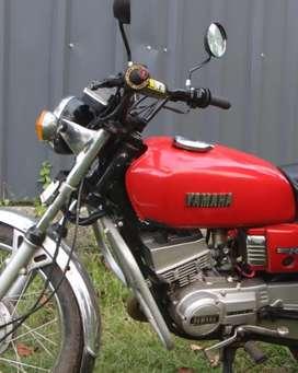 Rx 100 original Used petrol tank