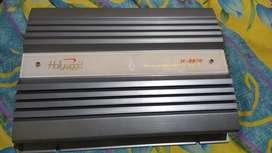 Amplifier / power mobil HOLLYWOD USA TYPE H-8800  1200 watt kondisi ok