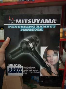 HAIRDRYER PENGERING RAMBUT-MITSUYAMA MS 5107-2 SPEED 550W-OKE