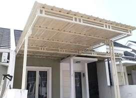Kanopi Alderon desain rumah minimalis anti Karat 0.87