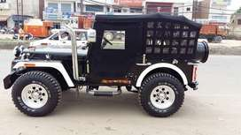 Fully closed willys jeep