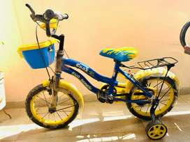 Hero Crox 14T Bicycle for Kids Blue/Yellow