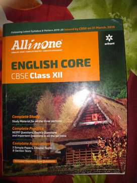 All in One English Core class 12