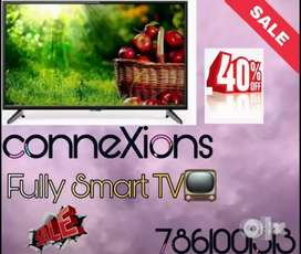Brand New 52inch UHD Smart Led Tv With Warranty