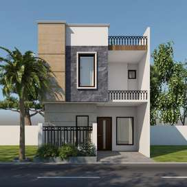 Brand new kothi for sale in shaheed bhagat singh nagar
