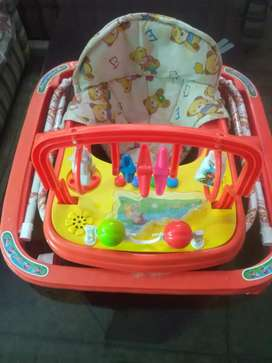 Baby walker new with music