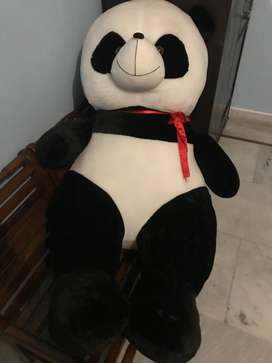 Well groomed panda toy