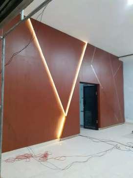 Interior Desain - Furniture Wallpaper dan Vinyl Flooring