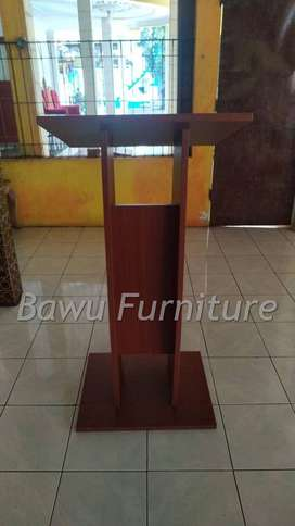 Furniture Best Seller Mimbar Podium Minimalis Design HPL