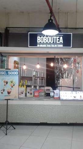 Take over Franchise Thai tea Bobou tea BIP
