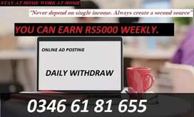 Work 2 to 3 hours daily earn online money