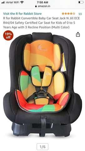 Unused Brand bew Car Seat