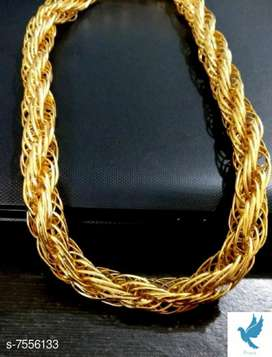 Stylish gold plated men's chain free shipping at  750 5 star product