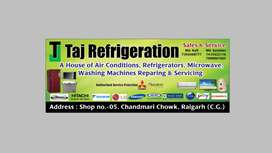 All typ Ac, friz washing machin repairing &sharvis  all time