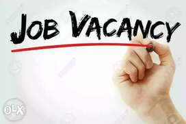 Urgent hiring female and male job vacancy