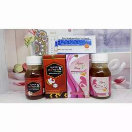 Madu Super Honey x &  Super Honey V (PAKET PROMIL)