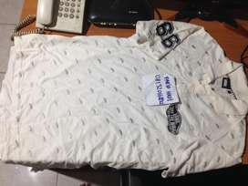 kaos kerah vans original logo putih size L like new jarang pakai BU