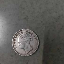 British India East India company silver coin