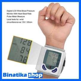 Tensi Darah Digital / Pengukur Tekanan Darah + Detak Jantung Digital