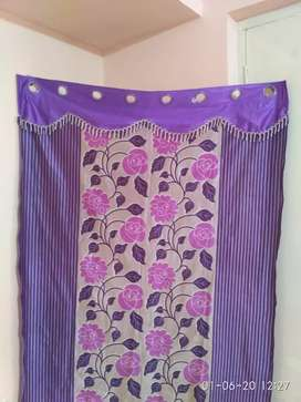 Purple Curtains set