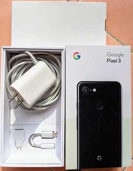 Google pixel 3 4/64 black not xl