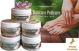 Women manicure and pedicure set