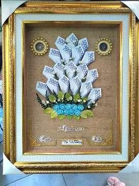 Mahar pernikahan uang kertas mainan