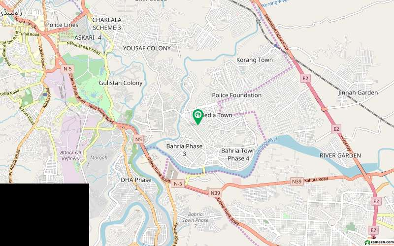 Centrally Located Residential Plot In Bahria Town Rawalpindi Is Availa