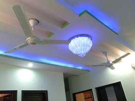 3bhk flat with modular kitchen,granite marble flooring,90%loan