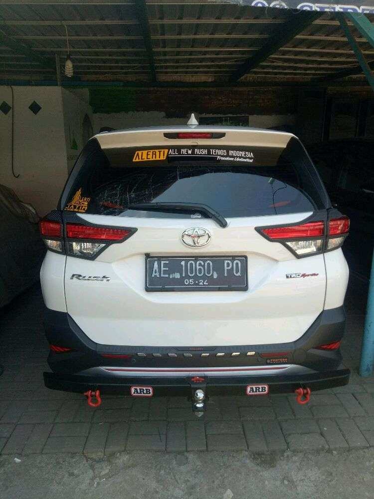 Bamper Towing Belakang with ball anting Model ARB All New Rush Terios 0