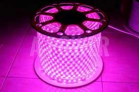 Hi Light - Lampu LED Strip Selang SMD 5050 Ungu (Double Mata LED)